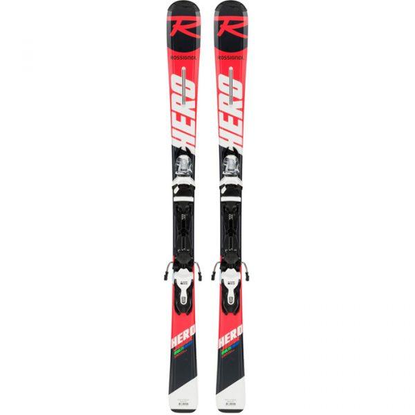 Skis Juniors Rouges – 7 à 14 ans